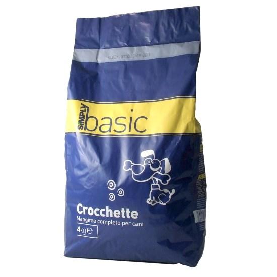 Crocchette Cane Simply Basic 4 Kg Supermercato Punto Simply